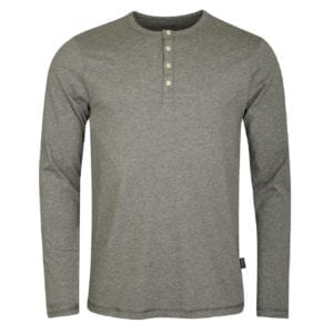 Patagonia Long Sleeve Daily Henley T-Shirt Feather Grey
