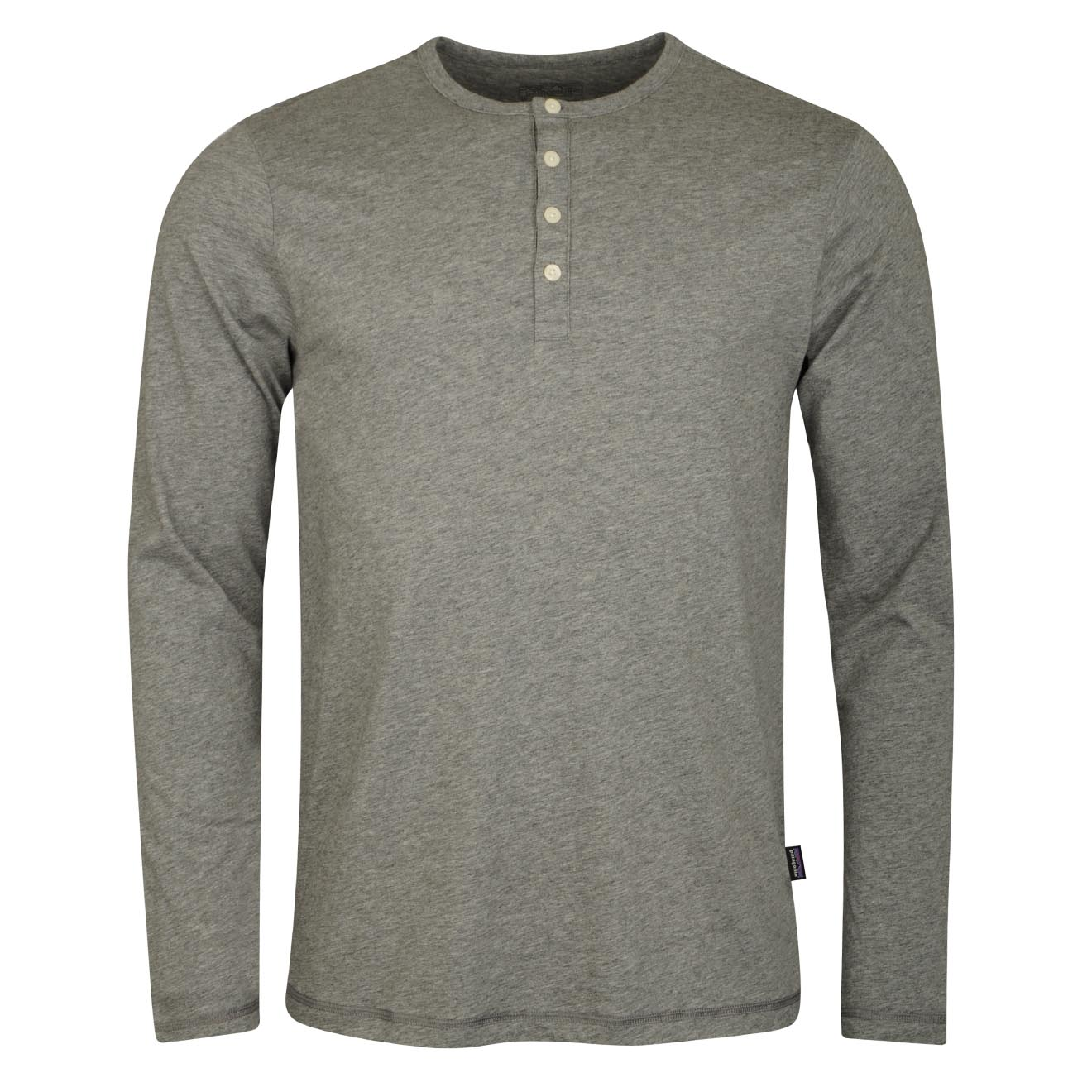 7c1791a129b Patagonia Long Sleeve Daily Henley T-Shirt Feather Grey - The ...