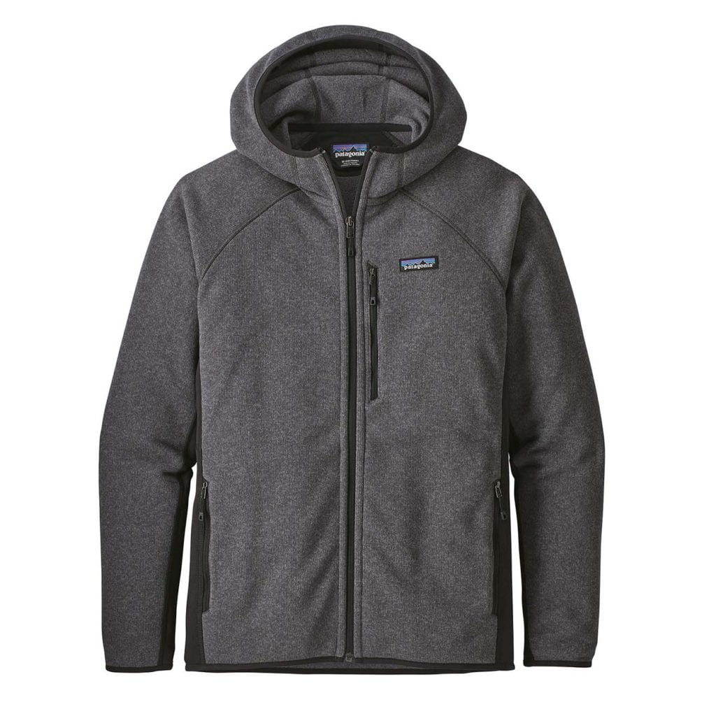 Patagonia Performance Better Sweater Hoody Forge Grey