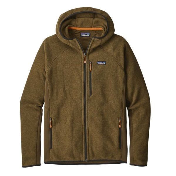 Patagonia Performance Better Sweater Hoody Sediment