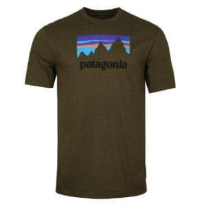 Patagonia Shop Sticker Responsibili-Tee Sediment