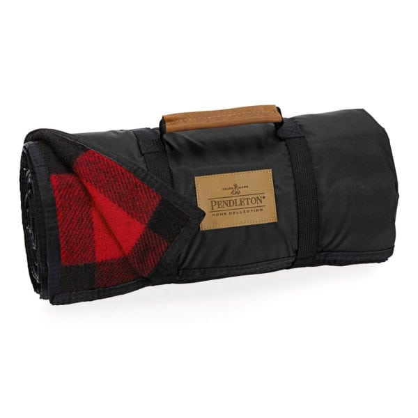 Pendleton Nylon Backed Roll-Up Blanket Mr Rob Roy