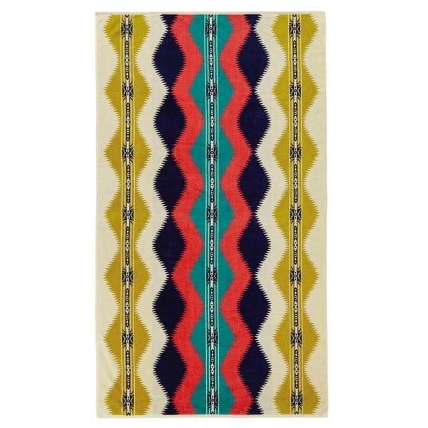 Pendleton Oversized Jacquard Towel Saguaro Pistachio