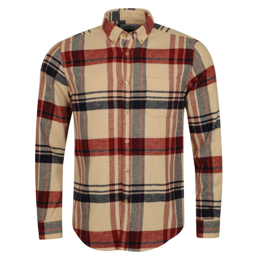 Portuguese Flannel Coachella Shirt Cream