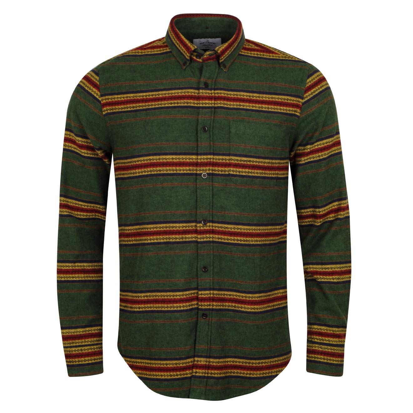 Portuguese Flannel Dakota Shirt Green