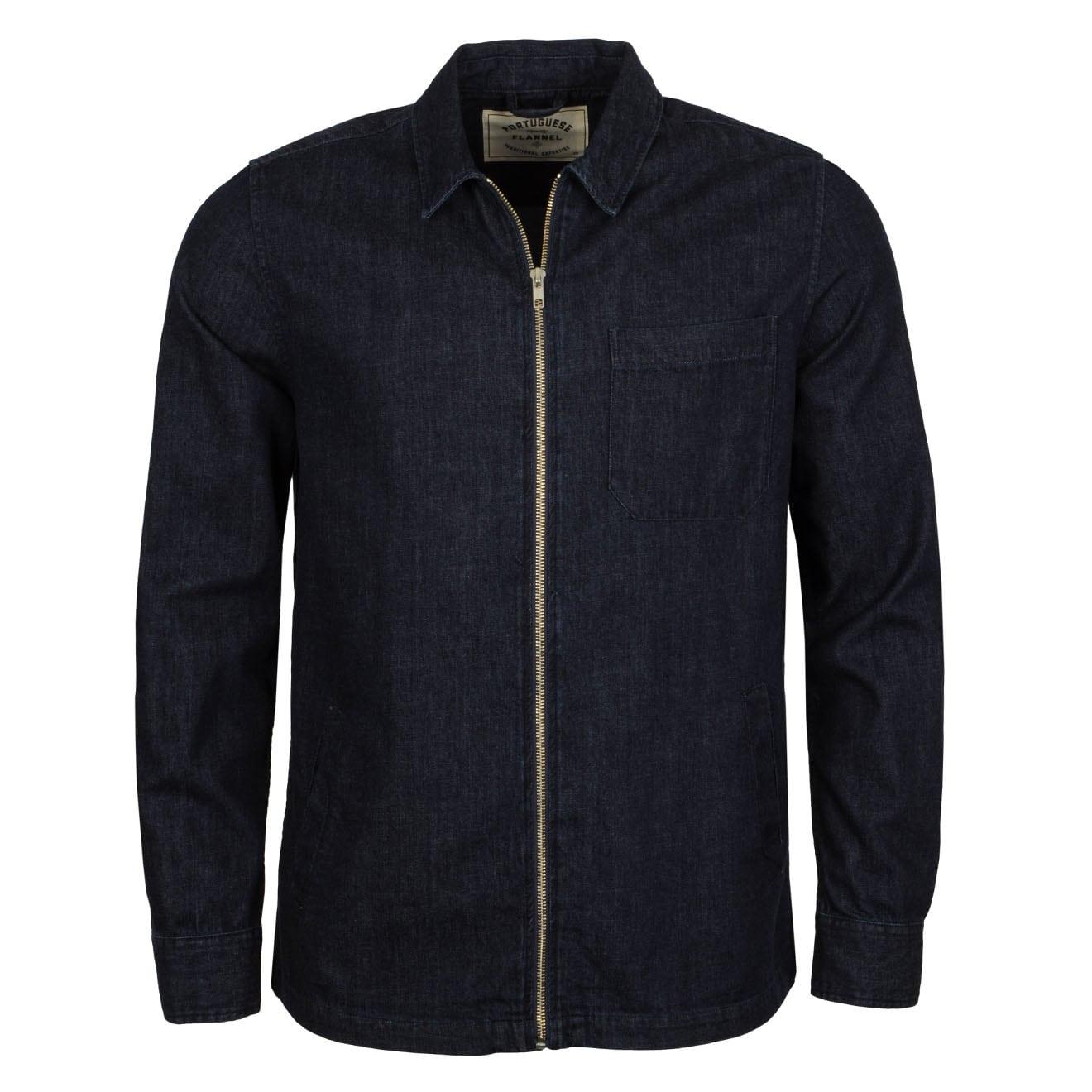 Portuguese Flannel Fecho Shirt Denim