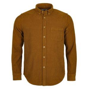 Portuguese Flannel Lobo Shirt Moss