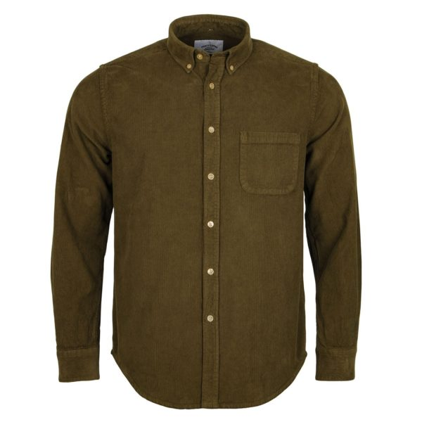 Portuguese Flannel Lobo Shirt Olive