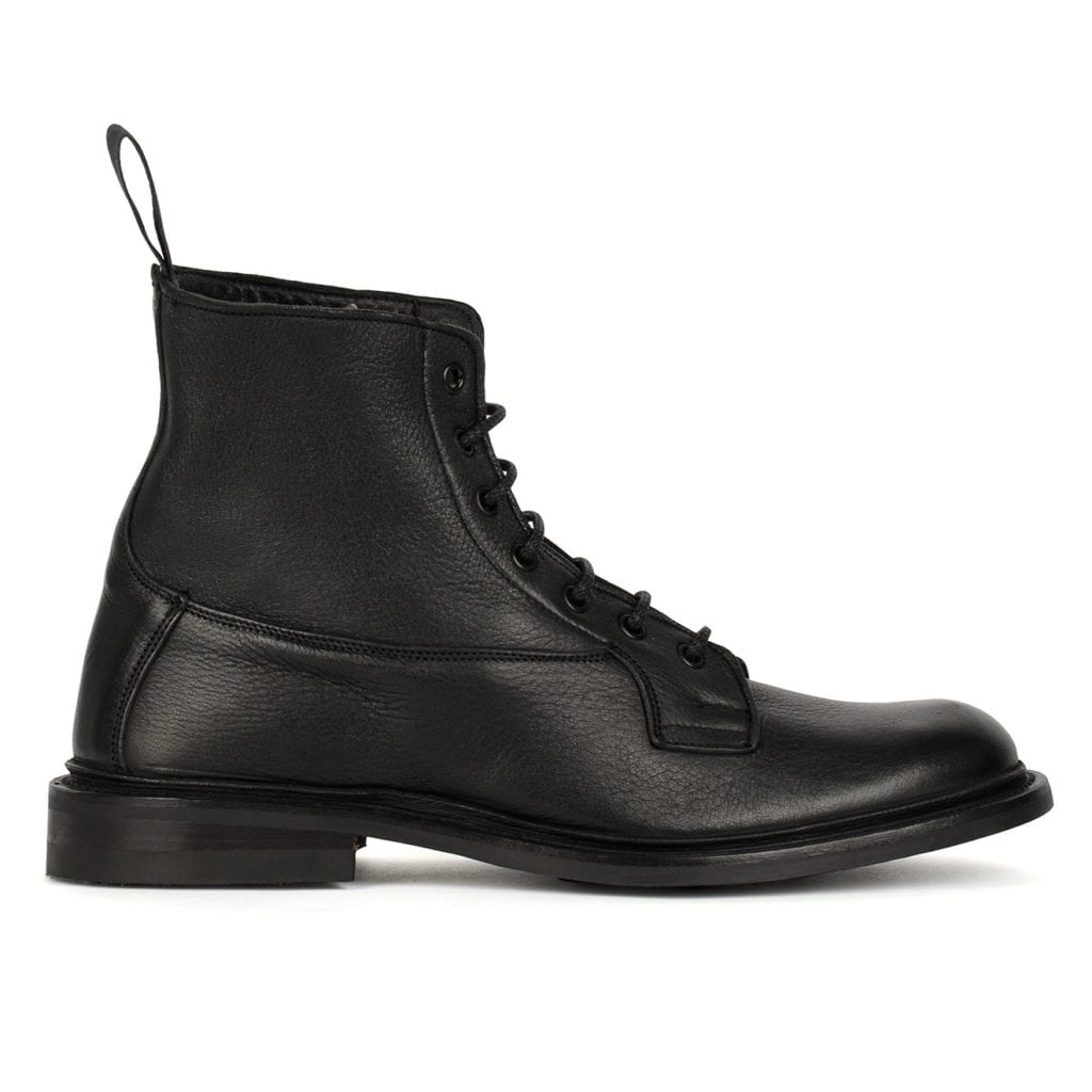 Trickers Burford Boot Dainite Sole Black
