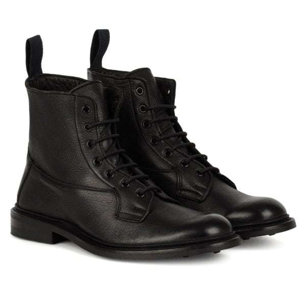 Trickers Burford Boot Dainite Sole Black