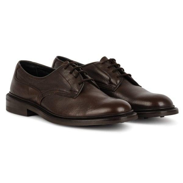 Trickers Woodstock Shoe Dainite Sole Brown