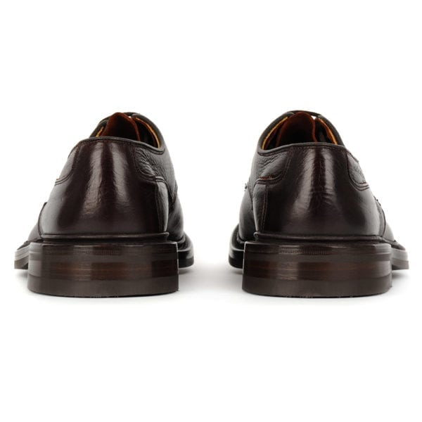Trickers Woodstock Shoe Dainite Sole Polo Kudo (Dark Brown)