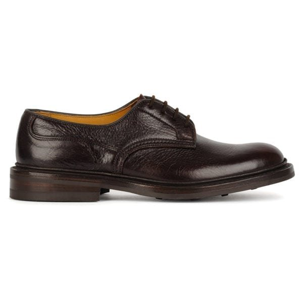 Trickers Woodstock Shoe Dainite Sole Polo Kudo (Dark Brown)