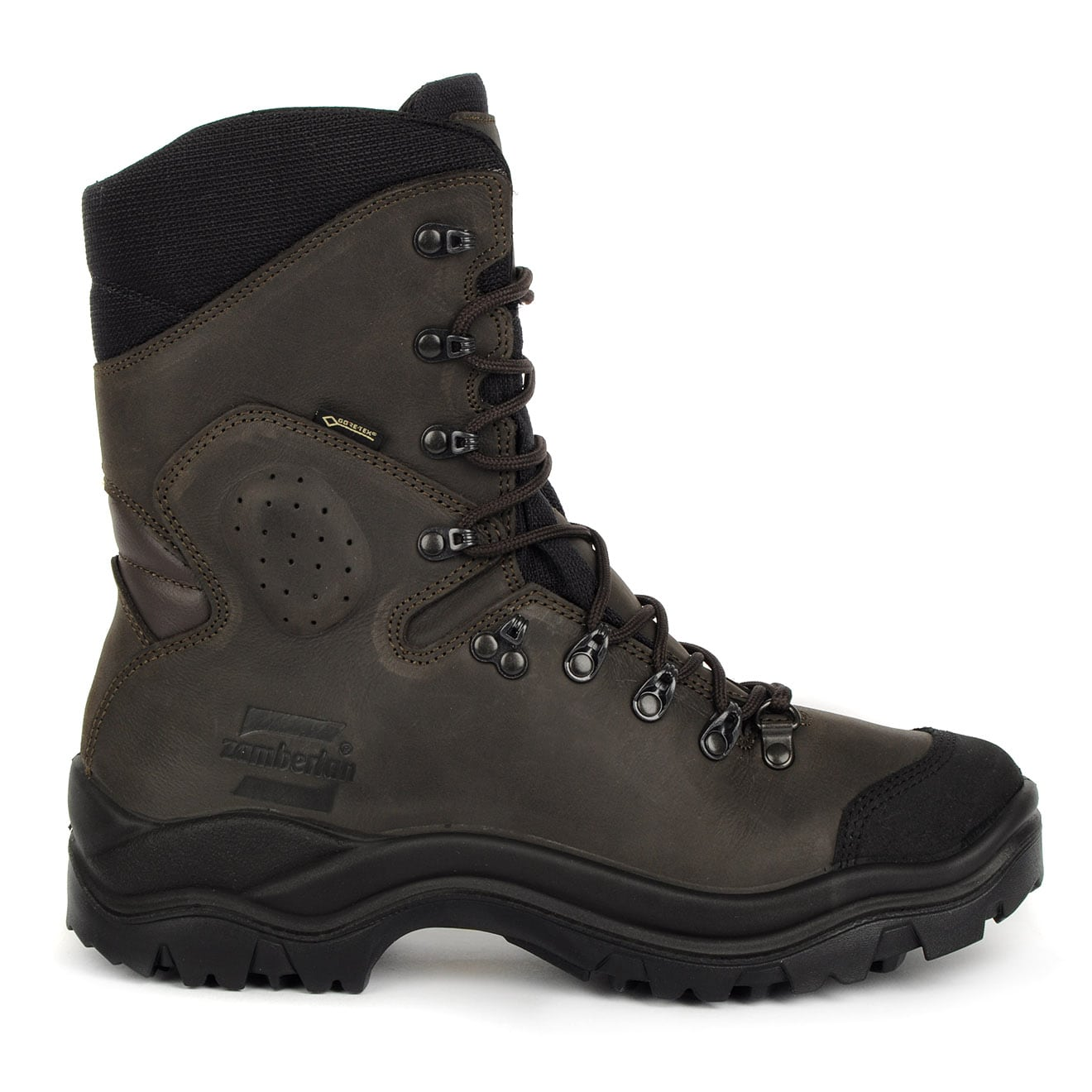 Zamberlan New Highland Goretex Boots Waxed Brown