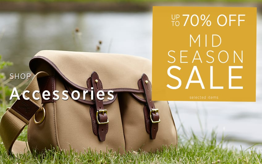 Up To 70% off Accessories - Mid Season Sale at The Sporting Lodge