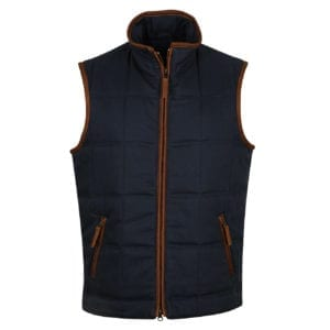 Alan Paine Kexby Gilet Navy