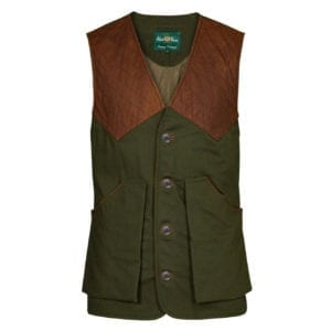 Alan Paine Kexby Shooting Waistcoat Olive