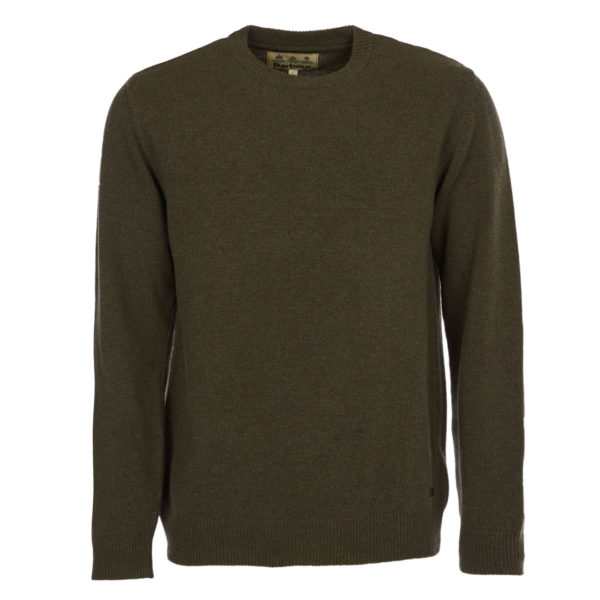 Barbour Nelson Essential Crew Neck Knit Seaweed
