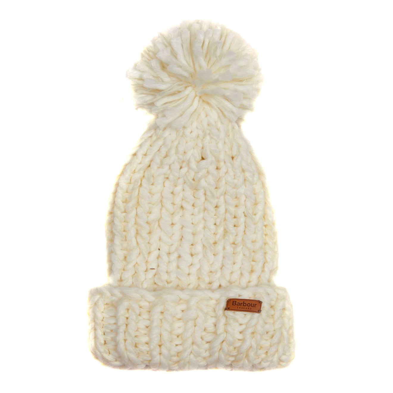 Barbour Womens Chunky Knit Hat   Scarf Set Winter White - The ... 084dc025500