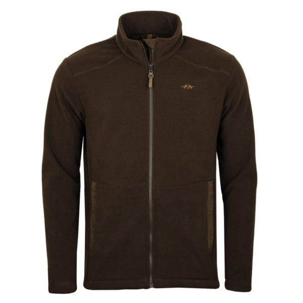 Blaser Basic Fleece Jacket Dark Chocolate