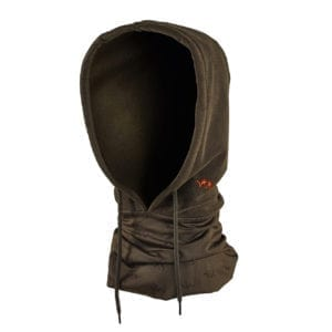 Blaser Fleece Buff Hood Brown