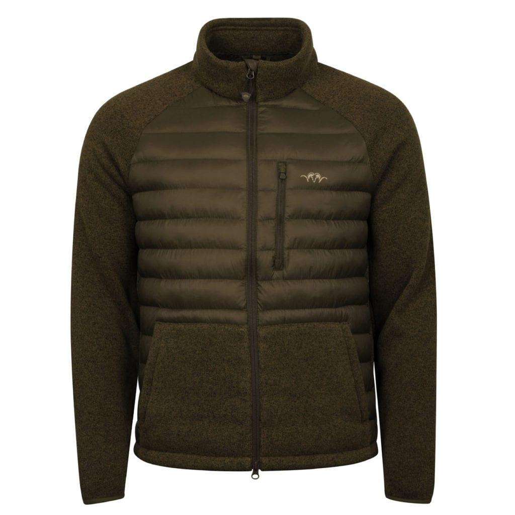 Blaser Hybrid Fleece Jacket Olive