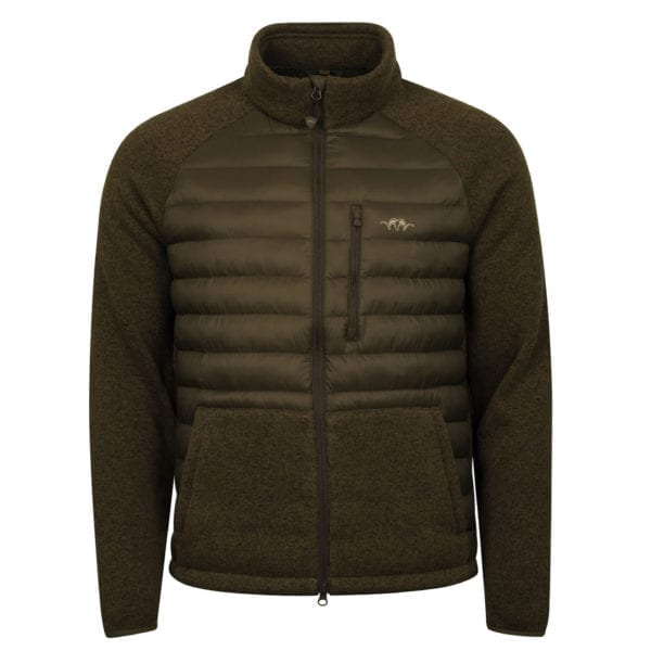 Blaser Hybrid Fleece Jacket Olive