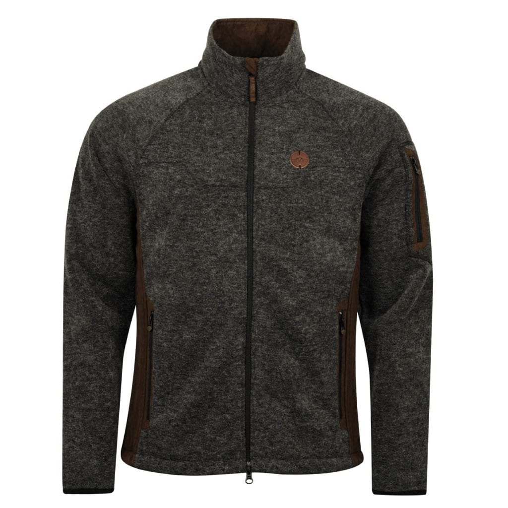 Blaser Softshell Jacket Anthracite Melange