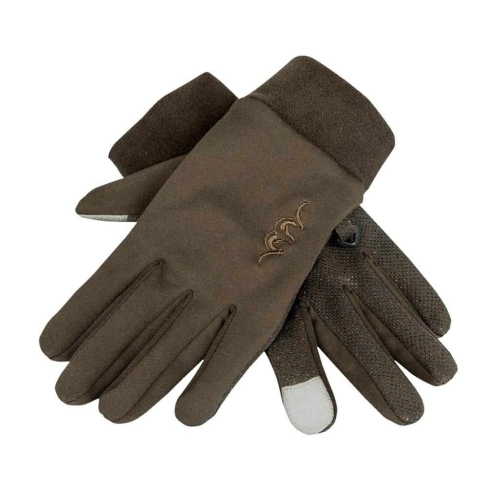 Blaser Touch Gloves Dark Brown