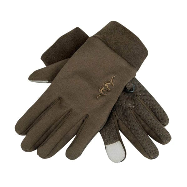 Blaser Touch Gloves Dark Brown