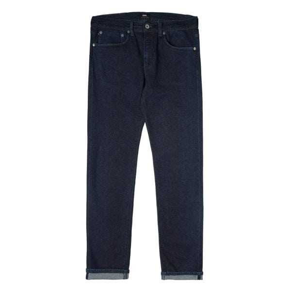 Edwin ED-80 CS Red Listed Blue Rinsed Jeans L32
