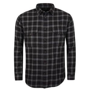Filson Lightweight Alaskan Guide Shirt Heather / Black