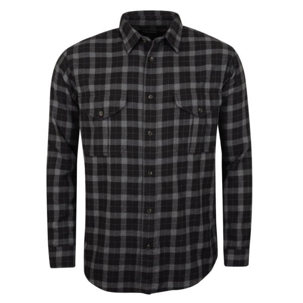 Filson Lightweight Alaskan Guide Shirt Heather / Black