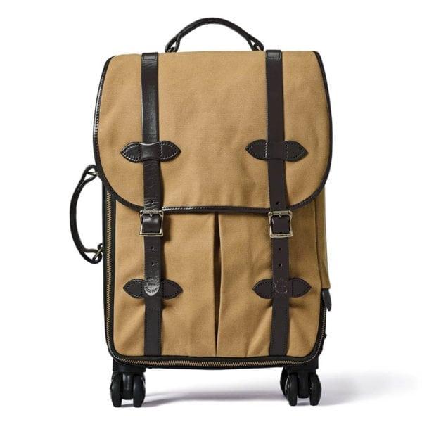 Filson Rolling 4-Wheel Carry-On Case Tan