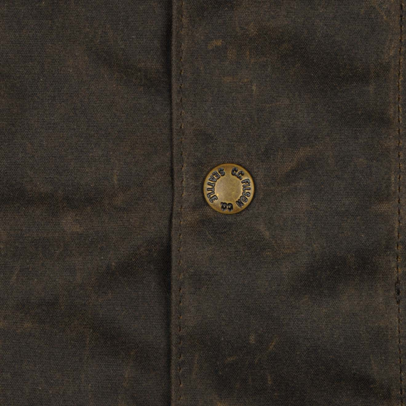 Filson Trench Coat Olive Brown The Sporting Lodge