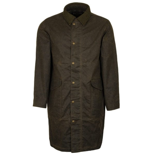 Filson Trench Coat Olive Brown
