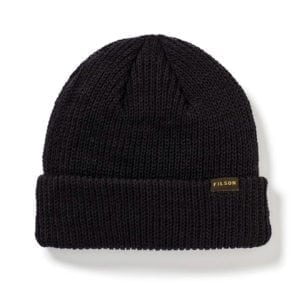 Filson Watch Cap Knitted Hat Black