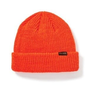 Filson Watch Cap Knitted Hat Flame