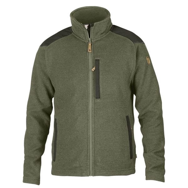 Fjallraven Buck Fleece Laurel Green/Deep Forest
