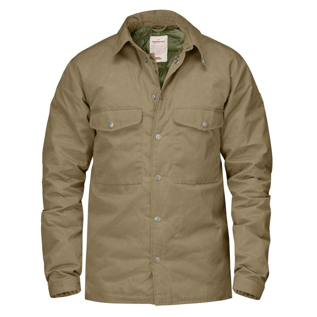 Fjallraven Down Shirt Jacket No. 1 Sand