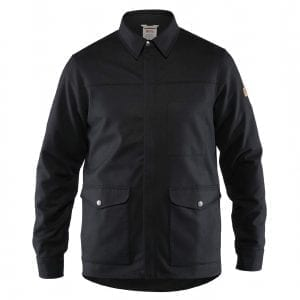 Fjallraven Greenland Re-Wool Shirt Jacket Black