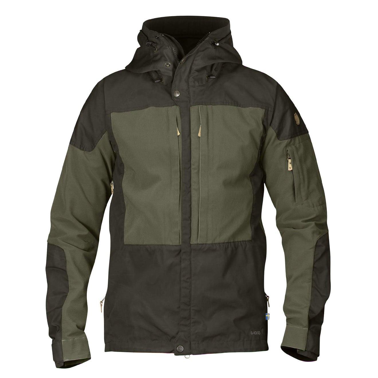 suche nach dem besten beste Turnschuhe Sonderkauf Fjallraven Keb Jacket Deep Forest/Laurel Green