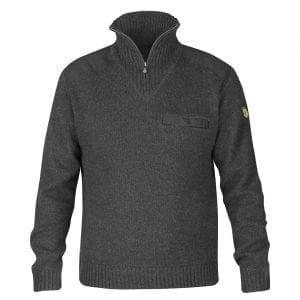 Fjallraven Koster Sweater Dark Grey