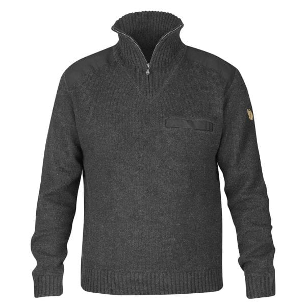 Fjallraven Koster Sweater Dark Grey
