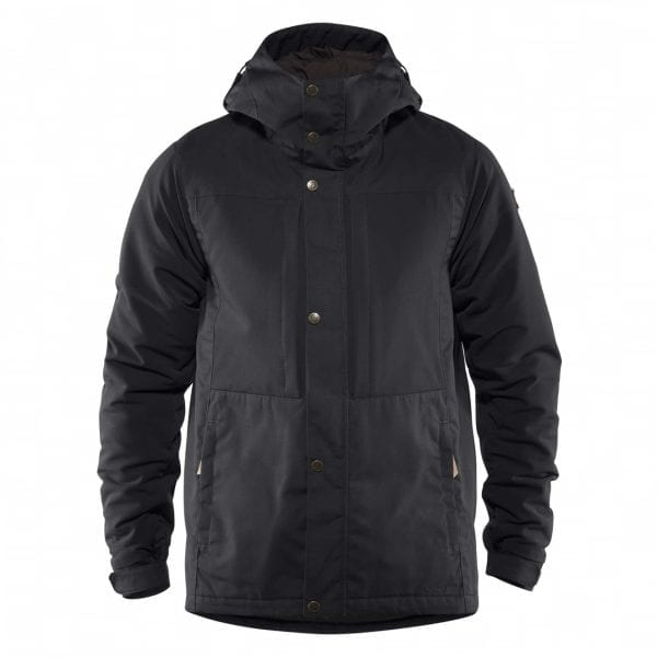 Fjallraven Ovik Stretch Padded Jacket Black