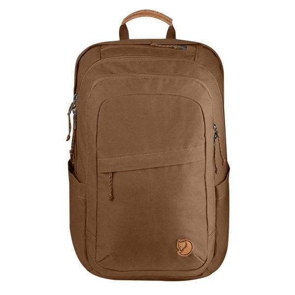 Fjallraven Raven 28L Backpack Chestnut