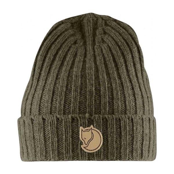 Fjallraven Re-Wool Hat Dark Olive