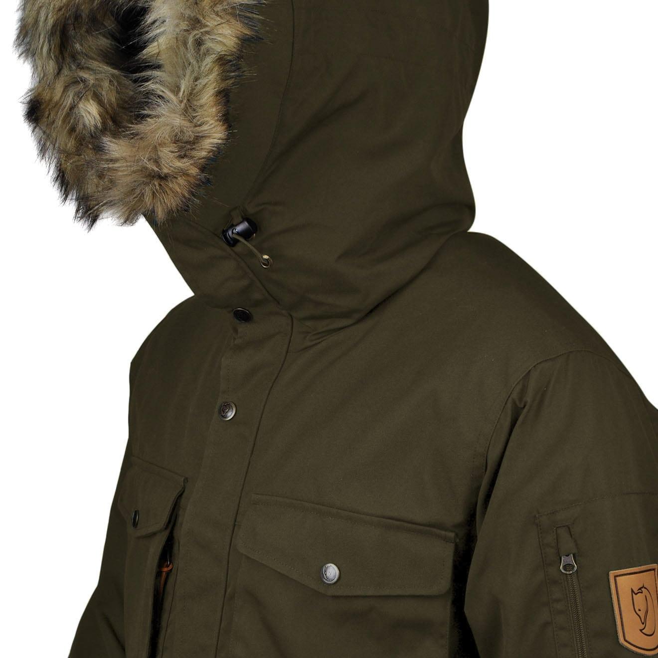 new list best place wholesale online Fjallraven Singi Winter Jacket Dark Olive - The Sporting Lodge