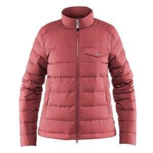 Fjallraven Womens Greenland Down Liner Jacket Dahlia