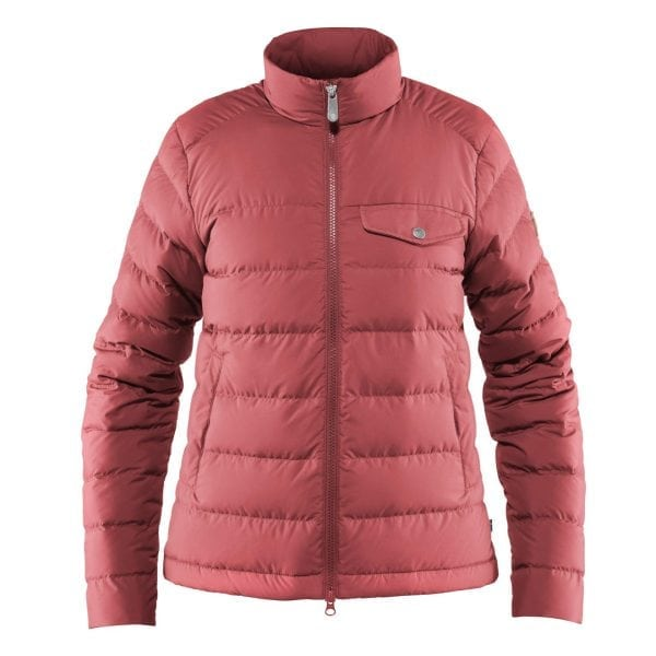 Fjallraven Womens Greenland Down Liner Jacket Dahlia